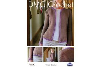 DMC 14925L/2 Crochet Fitted Jacket (Leaflet)