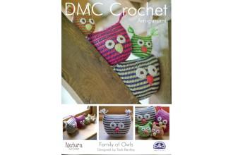 DMC 14934L/2 Crochet Family Of Owls (Leaflet)