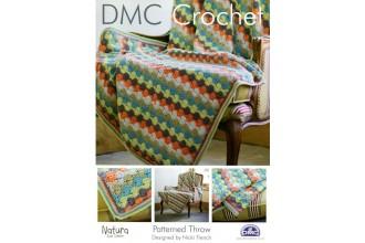 DMC 14939L/2 Crochet Patterned Throw (Leaflet)