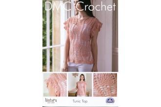 DMC 15092L/2 Crochet Tunic Top (Leaflet)