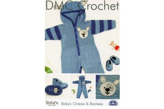 DMC 15208L/2 Crochet Baby's Onesie & Bootees (Leaflet)