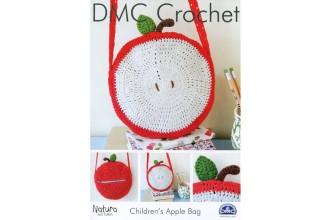 DMC 15212L/2 Crochet Children's Apple Bag (Leaflet)