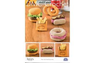 DMC 15313L/2 Crochet New York Food Favourites (Leaflet)