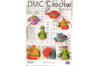 DMC 15315L/2 Crochet Masked Avenger Chicks (Leaflet)