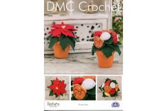 DMC 15317L/2 Crochet Flower Pots (Leaflet)