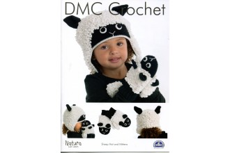 DMC 15321L/2 Crochet Sheep Hat and Mittens (Leaflet)