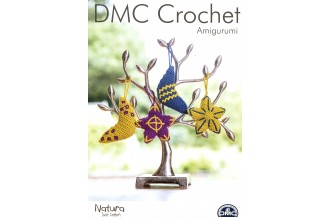 DMC 15402L/2 Crochet Amigurumi Moon and Star Decorations (Leaflet)