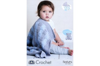 DMC 15433L/2 Tiny Tatty Teddy Crochet Baby Blanket (Leaflet)