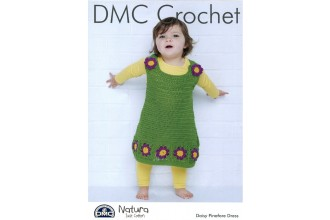 DMC 15437L/2 Daisy Pinafore Dress (Leaflet)