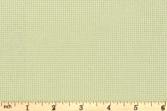 "DMC 14 Count Aida - Irridescent Green (772) - 35x45cm / 14x18"""