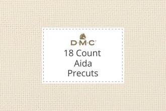 DMC Aida - 18 Count - Precuts