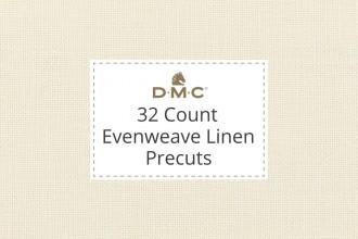 DMC Evenweave Linen - 32 Count - Precuts
