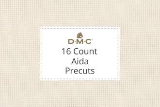 DMC Aida - 16 Count - Precuts