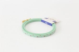 DMC Painted Wood Embroidery Hoop, 10.5cm / 4in - Blue