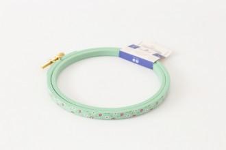 DMC Painted Wood Embroidery Hoop, 12.5cm / 5in - Blue