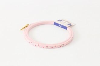 DMC Painted Wood Embroidery Hoop, 12.5cm / 5in - Pink