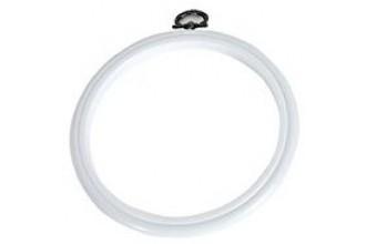 DMC Flexi Embroidery Hoop, 12.7cm / 5in - White