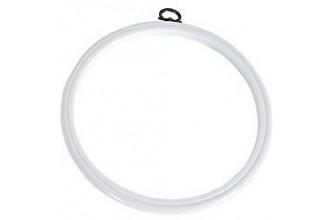 DMC Flexi Embroidery Hoop, 17.8cm / 7in - White