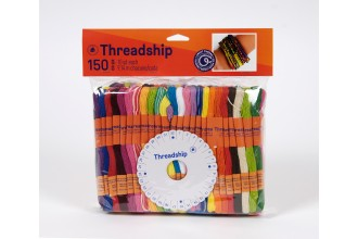 DMC Threadship - Craft Thread Pack (150 Skeins)