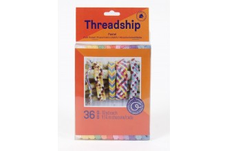DMC Threadship - Craft Thread Pack - Pastel Colours (36 Skeins)