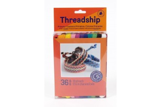 DMC Threadship - Craft Thread Pack - Primary Colours (36 Skeins)