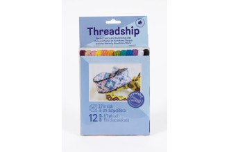DMC Threadship - Kumihimo Pack - Pastel Colours (Six Strand Floss - 12 Skeins)