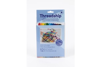 DMC Threadship - Kumihimo Pack - Primary Colours (Six Strand Floss - 12 Skeins)