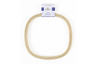 DMC Wooden Embroidery Hoop, Square, 21cm / 8in