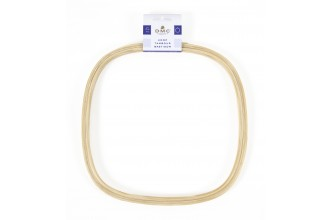 DMC Wooden Embroidery Hoop, Square, 25cm / 10in