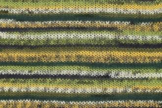Drops Fabel - Green Print (542) - 50g