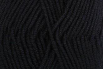 Drops Merino Extra Fine - Black (02) - 50g