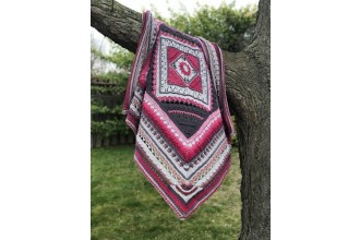 Look At What I Made - Charlotte's Universe - Pink Charlie (Scheepjes Woolly Whirl and Whirlette Pack)