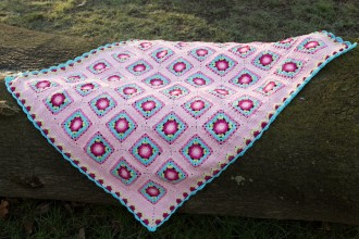 Look At What I Made - Lydia Blanket (Scheepjes Yarn Pack)