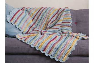 Look At What I Made - Memory Lane Blanket (Scheepjes Yarn Pack)