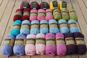 Look At What I Made - Sophie's Universe Main Pack (Scheepjes Softfun Yarn Pack)