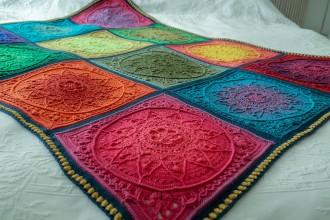 Look At What I Made - Sophie's Dream Blanket - Summer (Scheepjes Yarn Pack)