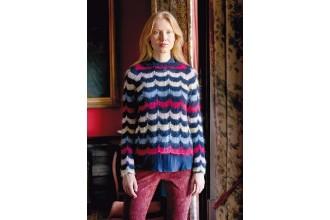 Rowan - New Nordic - Embla Sweater by Arne and Carlos in Kidsilk Haze (downloadable PDF)