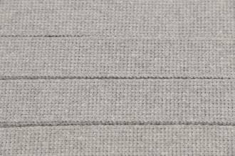 Webbing - Cotton Acrylic - 30mm wide - Silver (per metre)