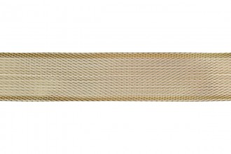 Bowtique Metallic Polyester Ribbon - 25mm wide - Gold (5m reel)