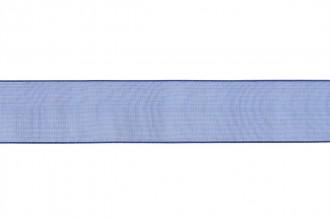 Bowtique Organdie Sheer Ribbon - 25mm wide - Navy (5m reel)