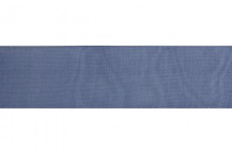 Bowtique Organdie Sheer Ribbon - 36mm wide - Navy (5m reel)