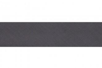 Bias Binding - Polycotton - 12mm wide - Silver Grey (per metre)