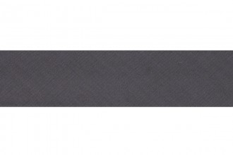 Bias Binding - Polycotton - 25mm wide - Silver Grey (per metre)