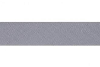 Bias Binding - Polycotton - 25mm wide - Pale Grey (per metre)