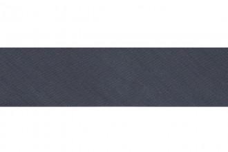 Bias Binding - Polycotton - 25mm wide - Slate Grey (per metre)