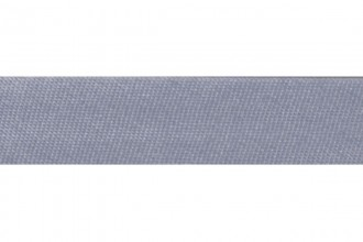 Bias Binding - Polyester - 15mm wide - Satin - Silver Grey (per metre)