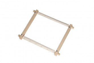 Elbesee Wooden Rotating Tapestry Frame, 60.9 x 30cm / 24 x 12in