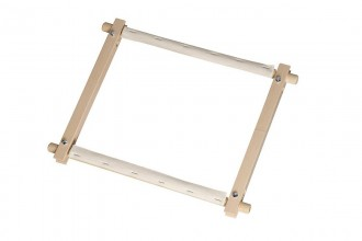 Elbesee Wooden Rotating Tapestry Frame, 68.6 x 30cm / 27 x 12in