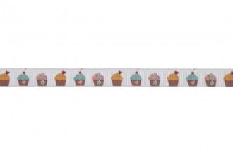 Bowtique Grosgrain Ribbon - 10mm wide - Cupcakes - Mixed (5m reel)