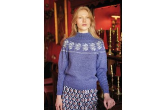 Rowan - New Nordic - Gry Sweater by Arne and Carlos in Felted Tweed (downloadable PDF)